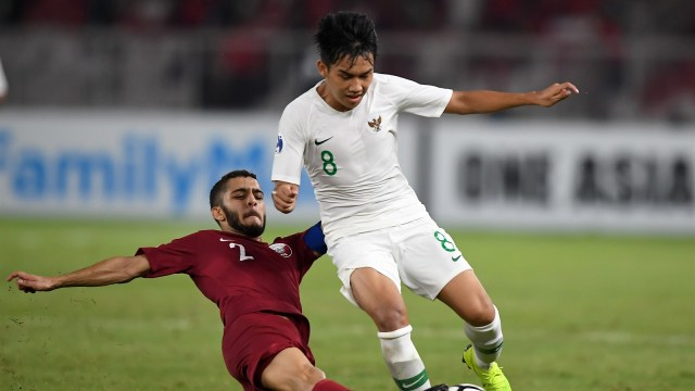 Timnas U-19 vs Qatar.