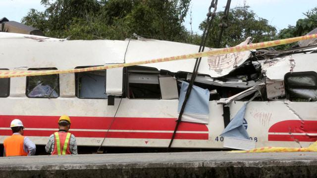 Taiwan Selidiki Kecelakaan Kereta yang Tewaskan 18 Orang (287129)