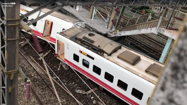 Kecelakaan Kereta Api di Taiwan