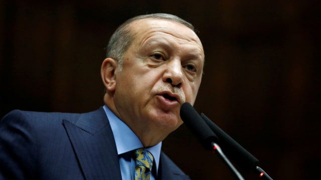 Presiden Turki,  Erdogan