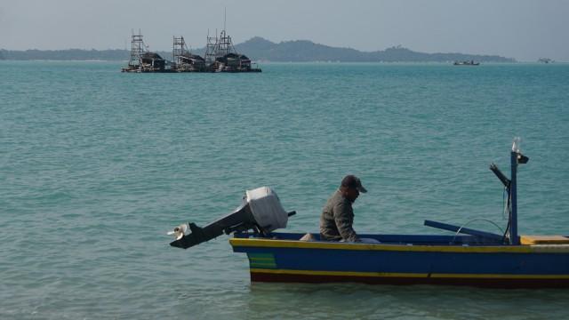Konten Spesial, Tambang Timah, Pantai Sampur, Pangkal Pinang, Bangka