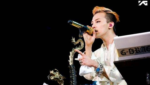 7 Fashion Nyentrik Ala G-Dragon BIG BANG (99428)