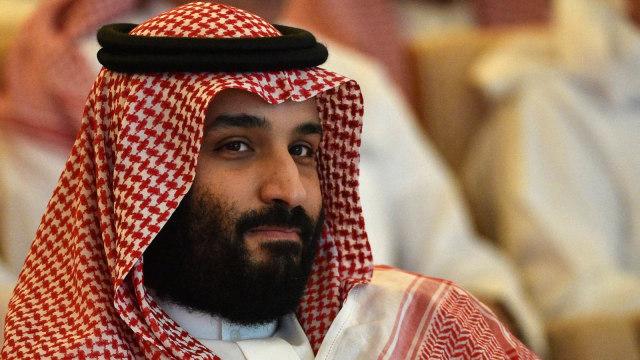 Mohammed bin Salman hadir di acara FII.