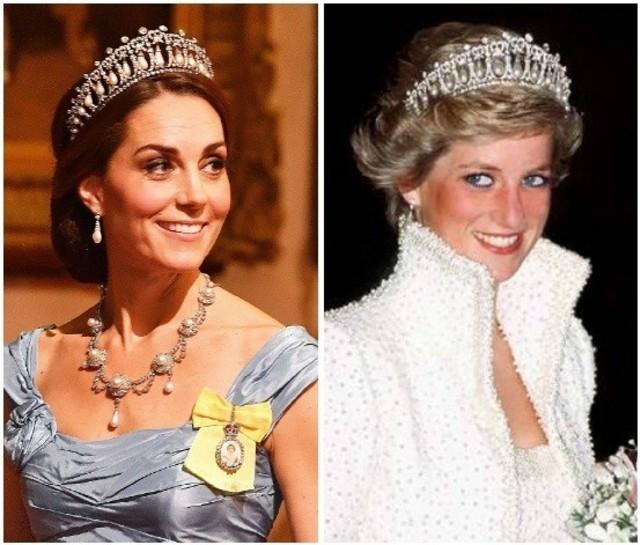 Kate Middleton dan Tiara Favorit Putri Diana