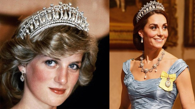 Kate Middleton Kenakan Tiara Favorit Putri Diana di Jamuan Makan Malam (62663)