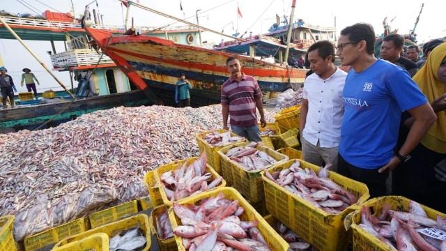 Sandiaga Salahudin Uno, nelayan