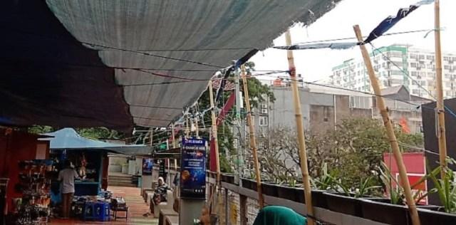Foto-foto Skywalk Teras Cihampelas yang Terancam Ditinggal PKL dan Pejalan Kaki (7946)