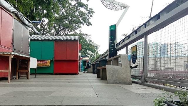 Foto-foto Skywalk Teras Cihampelas yang Terancam Ditinggal PKL dan Pejalan Kaki (7947)