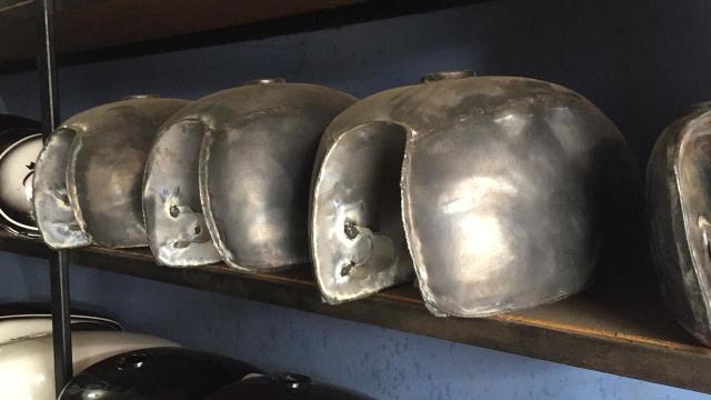 Macam-macam tangki untuk motor kustom