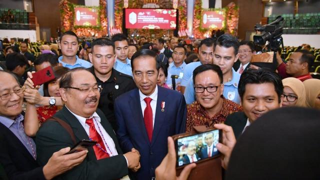 Joko Widodo, Presiden Jokowi, Muktamar ke-30 IDI