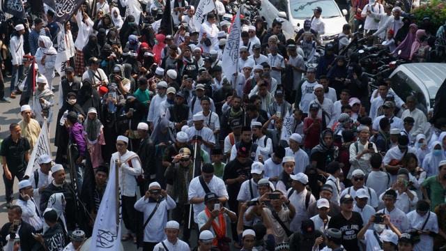 Aksi Demontrasi, Aksi bela tauhid, Pembela Tauhid, Jakarta