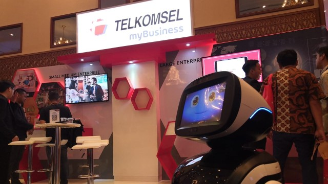 Telkomsel di Ideafest 2018
