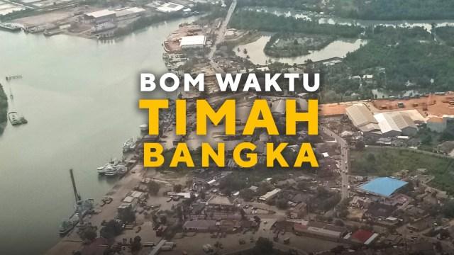 Konten Spesial, Bom Waktu Timah Bangka