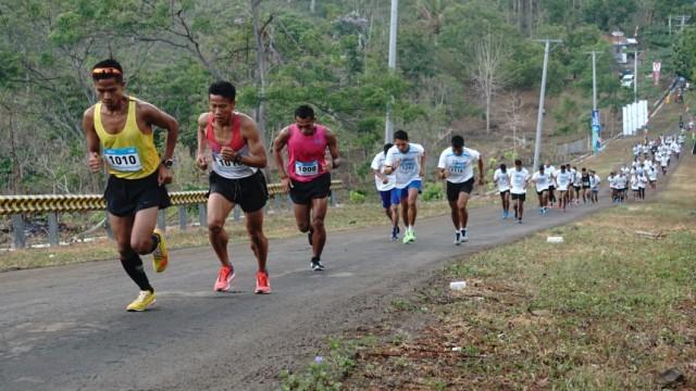 Blibli Mekaki Marathon 2018, Minggu (28/10/2018).