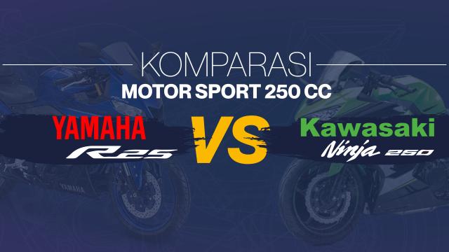 Komparasi Yamaha R25 vs Kawasaki Ninja 250