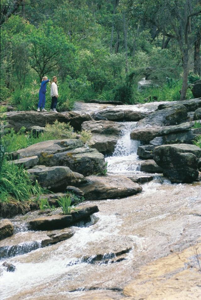 Lanskap indah di Perth Hills