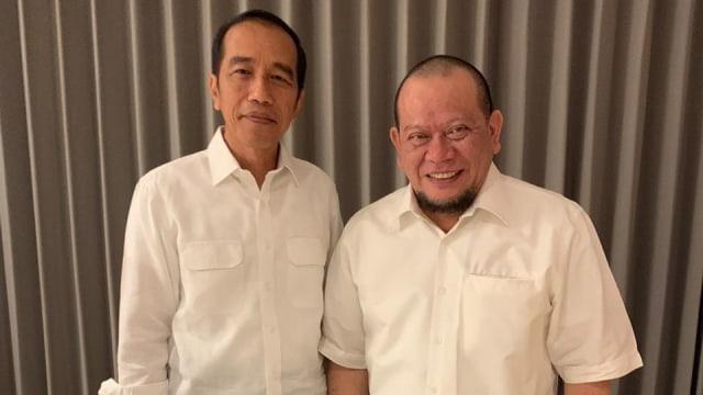 Jokowi, La Nyalla