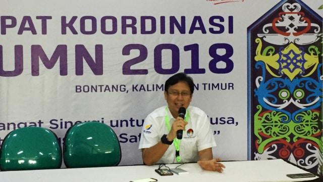 Konferensi pers Rapat Koordinasi BUMN 2018