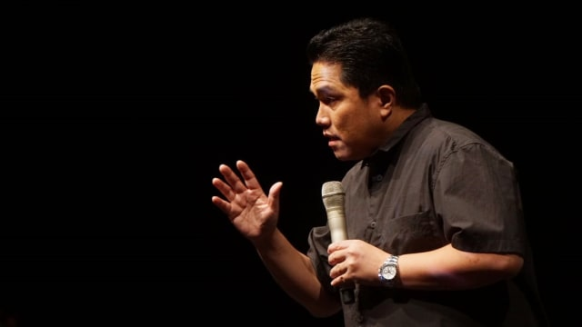 Milenial Fest, Ketua INASGOC, Erick Thohir