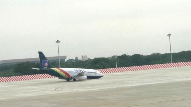 Pesawat di Soetta Dikira Kecelakaan, Ternyata Hanya untuk Latihan (150450)