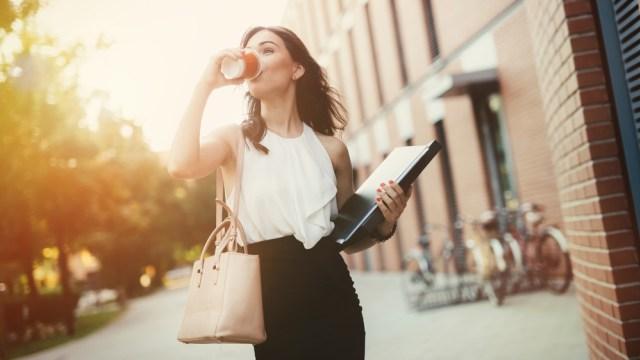 Tips Karier, Ilustrasi berangkat kerja