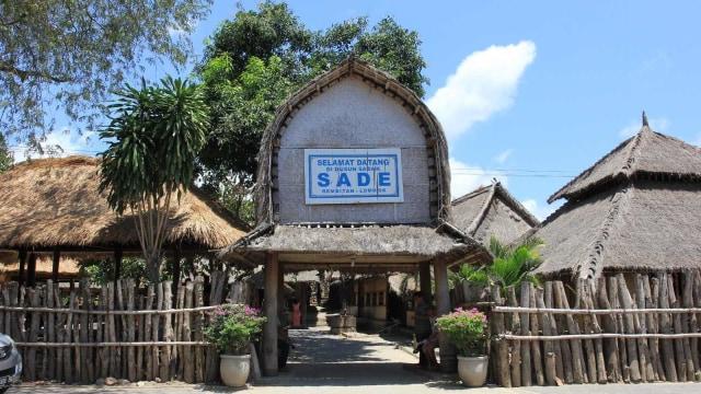 Suku Sasak, Suasana kampung Sasak, Dusun Sade, Lombok