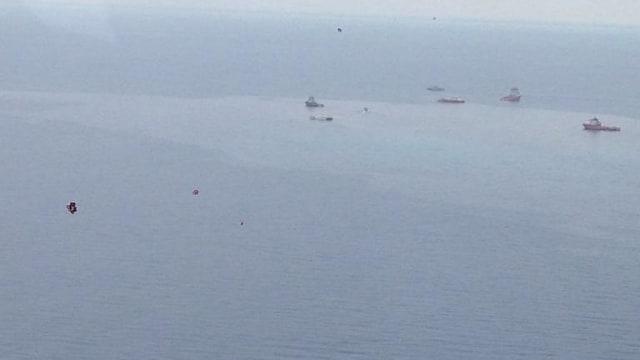 Saksi Mata: Air Laut Naik 5 Meter Saat Lion Air Hantam Permukaan Laut (180778)