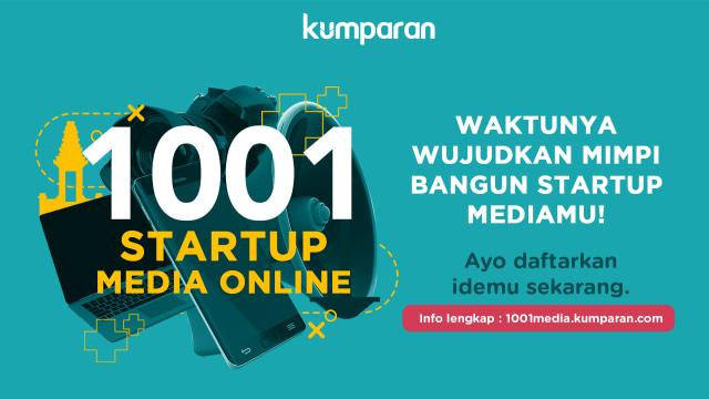 kumparan 1001 startup media online