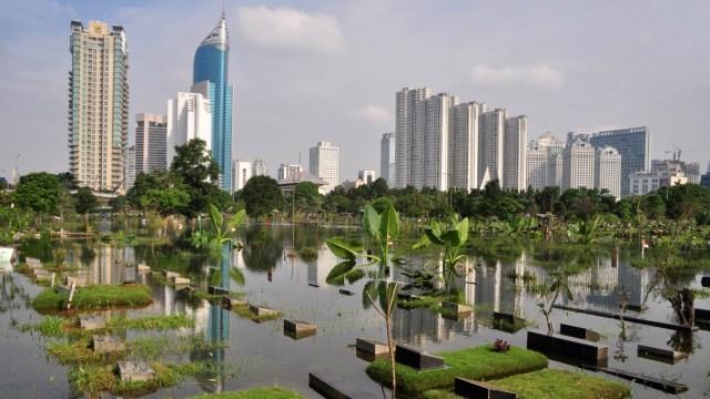 Banjir yang melanda Jakarta, 4 Februari 2014