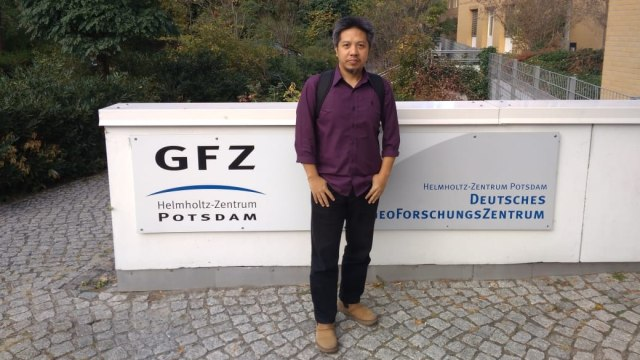 Ahli geodesi ITB Heri Andreas