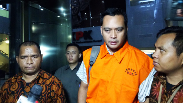 Manager Legal PT BAP, Teguh Dudy Syamsury Zaldy, KPK