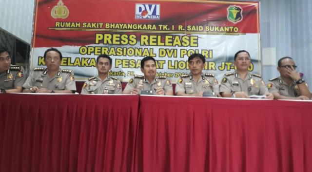 RS Polri Minta Data Korban Lion Air ke Keluarga: KTP Hingga Foto (109342)