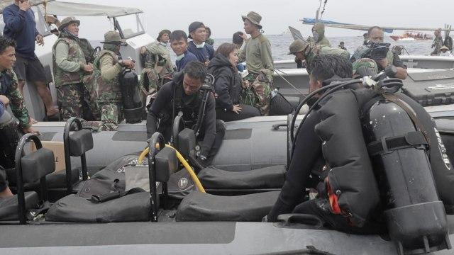 Penyelam Temukan Jejak Roda Pesawat Lion Air di Dasar Laut (11983)