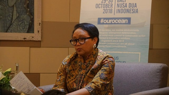 Retno Marsudi, Our Ocean Conference 2018