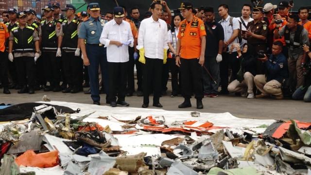 Jokowi, JICT, Lion Air JT 610