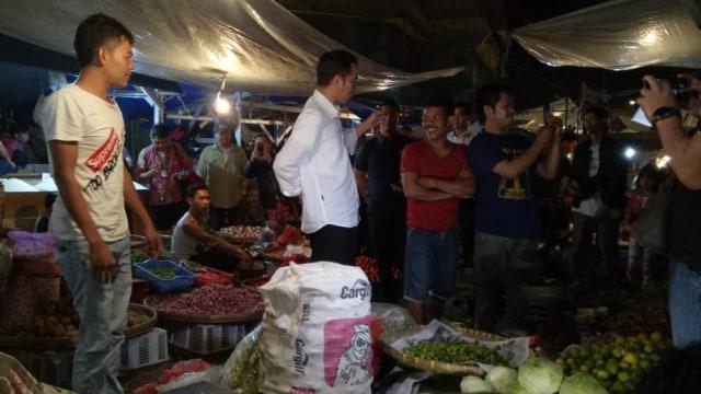 Presiden Joko Widodo, Jokowi, blusukan, Pasar Lawang Suryakancana