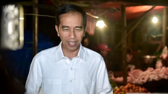 Jokowi, blusukan, Pasar Lawang Suryakancana, Bogor