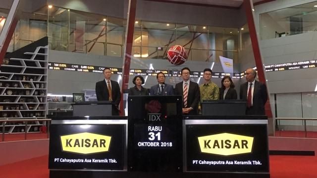 PT Cahayaputra Asa Keramik Tbk, IPO, Bursa Efek Indonesia