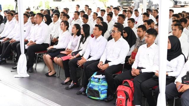 Manpan RB, proses seleksi CPNS, Cibubur