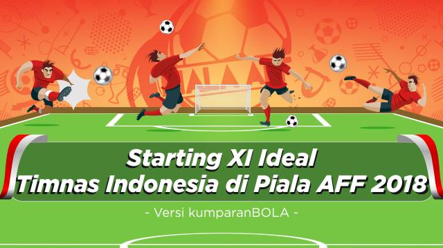 Mendedah Starting XI Ideal Timnas Indonesia di Piala AFF 2018 (311992)