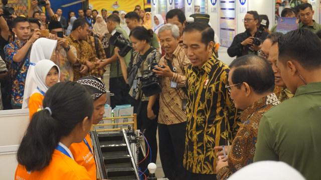 Indonesia Science Expo, Jokowi