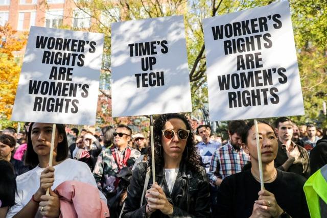 Protes Karyawan Google