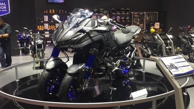 Kawasaki Siapkan Motor Tiga Roda, Lebih Oke dari Piaggio MP3 dan Yamaha Tricity? (5603)