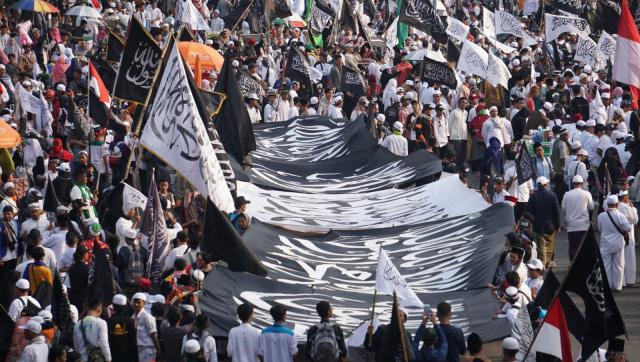 Massa Aksi Bela Tauhid Jilid II Bubarkan Diri (87995)