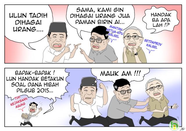 Kartun Banjar: Main Hibah Dana Pilgub Kalsel (123510)