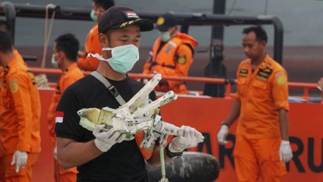 Puing-puing pesawat Lion Air JT-610, JICT
