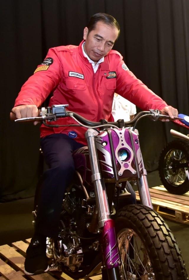 Joko Widodo, Indonesia Motorcycle Show (IMOS) 2018, (NOT COVER)