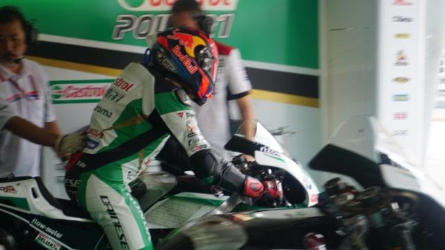 Dua Hari di Paddock LCR Honda