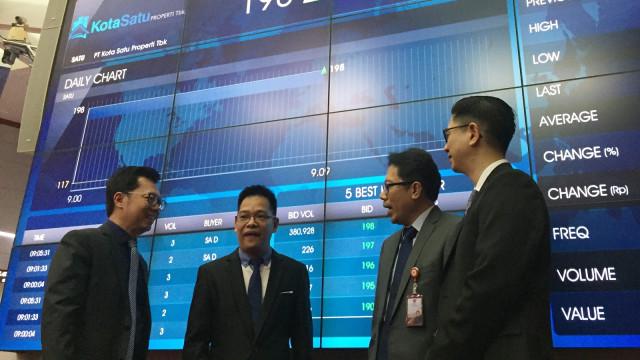 Direksi PT Kota Satu Properti, Bursa Efek Indonesia,