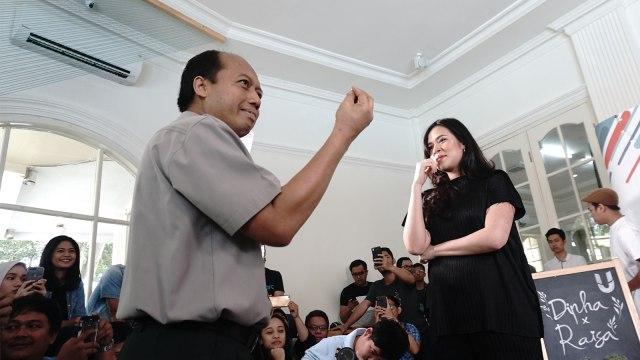 Sutopo Purwo Nugroho dan Raisa
